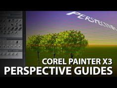 Learn how to use Corel Painter's Perspective Guides to create realistic drawings in proper perspective using 1, 2 or 3 vanishing points. Perspective guides a...