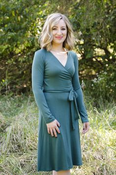 Oakleigh Rose - Emerald Wrap Dress, $35.00 (http://www.oakleighrosestyle.com/emerald-wrap-dress/)