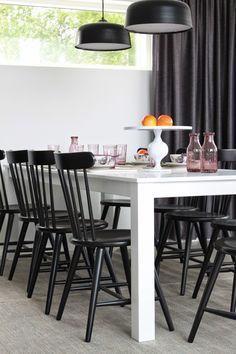 Asuntomessukohde 2014 Jyväskylä, kohde Perhe Dining, Kitchen, Table, Pantry, Furniture, Home Decor, Eggs, Pantry Room, Food