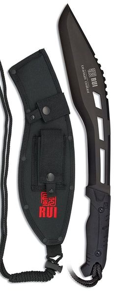 RUI Tactical Kukri Machete Fixed Blade Knife