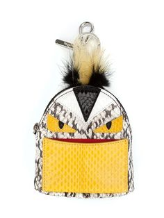 Shop Fendi monster backpack charm in Kirna Zabête from the world's best independent boutiques at farfetch.com. Shop 400 boutiques at one address.