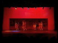 """THAT'S ENTERTAINMENT II (Part One) Ghent, 24 Nov. 1990.  """"LAMBADA"""" Tap Dance Music: Chico de Olivera Choreography: Ann Parkes Performed by: Studio Ann Parkes (Daphné Costes, Patsy Cousaert, Valérie De Coster, Yasmine Driege, Anke Grootaert, Véronique Laureys, Saskia Nachtergaele, Liesbeth Van den Bossche)."""