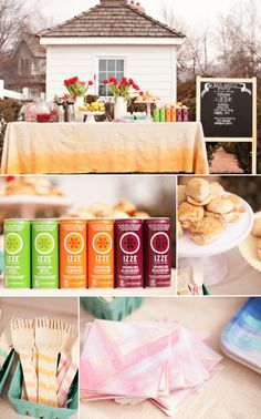cute spring party details // photos by lindsey orton + featured on small fry blog.