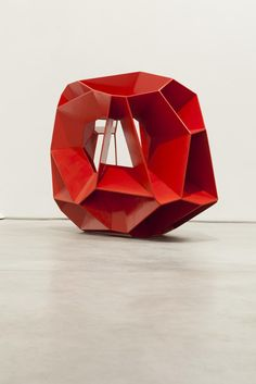 "dailyartspace: "" Crater (2012), Arik Levy #backtoartschool #geometric """