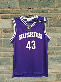 5aa73ac7cf1 LIANZEXIN K.Tyler  43 Jersey Huskies The 6th Marlon Wayans Kenny Tyler  Basketball movie