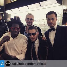 #LapoElkann Lapo Elkann: #Repost @italiaindependentofficial with @repostapp.・・・The three #ItaliaIndependent founders, Lapo Elkann, Andrea Tessitore and Giovanni Accongiagioco, with @BradleyTheodore at Italia Independent opening event in #NewYork. #85MercerSt @LapoIndependent