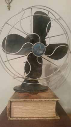 Vintage Emerson Electric fan from my grandma's♡♡