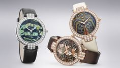 Harry Winston : Premier Precious Butterfly Automatic 36 mm.