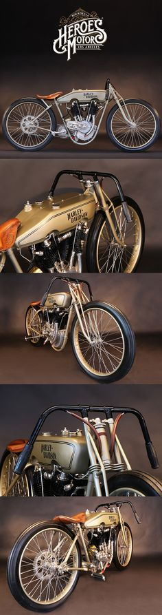 1923 HARLEY DAVIDSON BOARDTRACK RACER | Big Twin Model Chicago #heroesmotors #caferacer #vintagemotorcycles #triumph #harleydavidson #losangeles #california #norton #vincent #indian #classicmotorcycles #ateliersbueno #photosergebueno