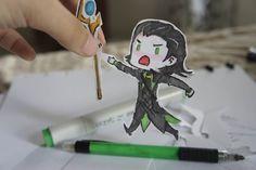 Loki Paper Child by ~SoonToBeMangaka