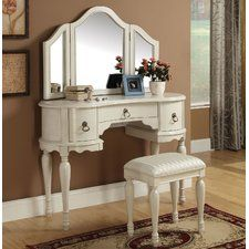 Trini Vanity Set with Mirror