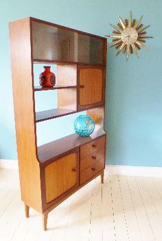 Retro 60s//70s room divider teak Stonehill sideboard | eBay