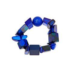 Cobalt Plastic Bracelet