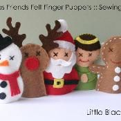 Items similar to KIT: Felt Christmas Friends Finger Puppets Sewing Kit on Etsy Felt Puppets, Felt Finger Puppets, Hand Puppets, Christmas Friends, Felt Christmas, Christmas Projects, Felt Projects, Xmas, Felt Crafts