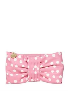 RED Valentino Dotted Canvas Bow Clutch | #Chic Only #Glamour Always