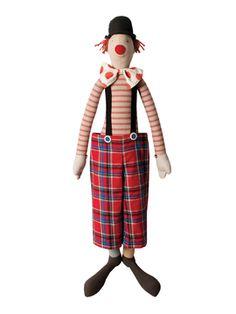 Mega Maxi Clown from Darling Stuffed Animals Feat. Maileg on Gilt