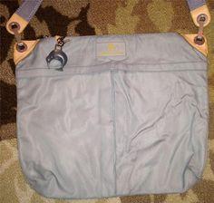 Louis Vuitton LV Cup Gray 2000 Large Cross Body Bag Shoulderbag Purse Kiwi Lock | eBay