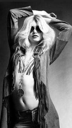 Rock n' roll fish Vogue Fashion, Punk Fashion, Boho Fashion, Boho Chick, Biker, Diana, Mode Boho, Fashion Photography Inspiration, Shooting Photo