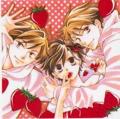 Haruhi, Hikaru and Kaoru, Ouran High School Host Club
