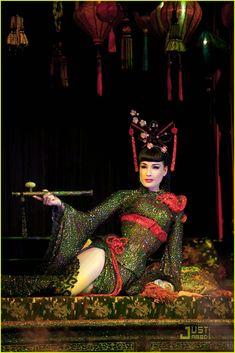Dita Von Teese in her Opium Den