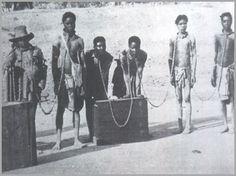 Hererós escravizados.