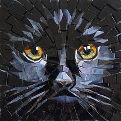 Hardboard makes a good creation for your mosaics as long as you limit the size of the overall mosaic, limit the tesserae size, and don't … Mosaic Tile Art, Mosaic Artwork, Mosaic Glass, Glass Art, Stained Glass, Mosaic Mirrors, Sea Glass, Mosaic Designs, Mosaic Patterns