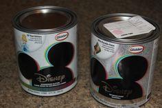 Disney Paint that sparkles!  WHAT!!