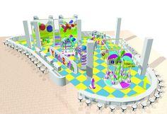 New ideas for kids Children playground equipment Indoor Playground Concept and Equipment