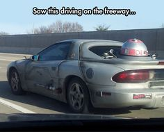 This is not the car you're looking for…