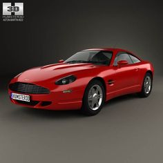 Aston Martin AM4 1997 3d model from humster3d.com. Price: $75