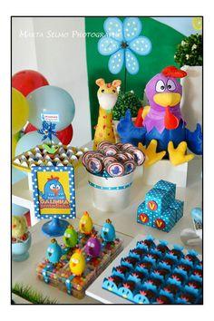 Galinha Pintadinha Birthday Party via Kara's Party Ideas | Kara'sPartyIdeas.com…