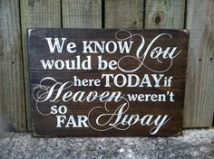 how to honor those that have passed at wedding - Google Search