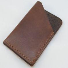 Leather Slim Credit Card Wallet
