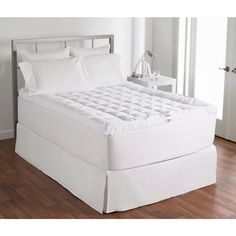 Queen size 400 Thread Count Cuddle-Bed Mattress Topper - Hearts Attic