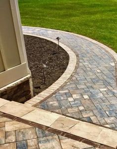Create a pleasurable experience for your guests from curb to door! Update your walkway with beautiful Cambridge Pavingstones. Installation: Top Gun Enterprises