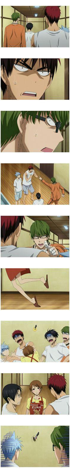 SHOCK SHOCK SHOCK   Takao : nyeremin banget! Udah gitu ada yang jadi korban jiwa, lagi. Ooh my Tetsuyaa, Midorin Daijobu -_-||   || kuroko no basuke || kagami taiga || kuroko tetsuya || riko aida || takao kazunari || midorima shintaro