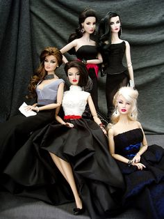 I would love one of each of these dolls and fashions