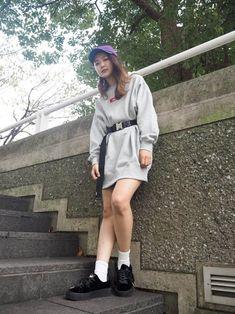 2764fd8016f yuri suzuna(XLARGE X-girl みなとみらい) X-girlのキャップを使ったコーディネート