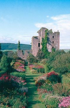 Where can i find very detailed research on scottish castles for a research paper?