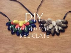 Tutorial Colier 1 din materiale reciclate ♥ DIY ♥ VIDEO TUTORIAL in Limba Romana - YouTube Learning Italian, Diy Videos, Youtube, Crafty, Beads, Jewelry, Instagram, Beading, Necklaces