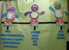 Penguin Tree Map (can, have, are)    www.mrsjumpsclass.blogspot.com for more great ideas.