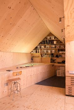 Artist Studio At The Scottish Seaside By Studio Weave