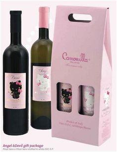 Hello Kitty wine.. YES!!