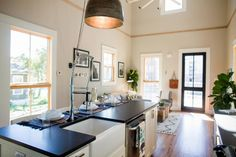 Chip and Joanna Gaines help adventurous first-time homebuyers save one of only two authentic original shotgun style houses still standing in the Waco area. In the end, they transform this vintage find into an amazing space with imaginative design, but rescuing and restoring the tiny 700-square-foot home turned out to be an epic adventure. From the experts at HGTV.com.
