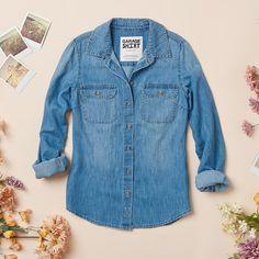 Pretty Little Preview #denim #shirt #spring16