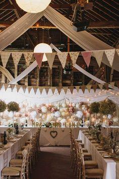 Quaint barn -themed weddings
