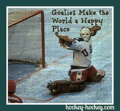 Hockey goalies rock!