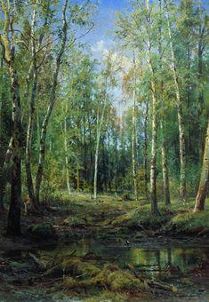 Березовая роща. 1875 - Шишкин Иван Иванович