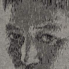 New Portraits by Kumi Yamashita Made with Nails, Thread, and Denim