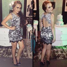 Níver 15 anos das lindas @anavitoriaborges e @_gabrielaborges aqui em Uberlândia - MG Look divino da @missteenoficial. Missteen Party Collection By Larissa Manoela. Tá tudo de bom #AnaeGabi15